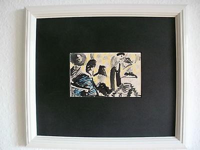 """Erich Heckel, """"Konzert"""", Künstlerpostkarte, Expressionismus, Brücke, Pfalz,"""