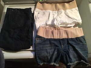 Maternity shorts and capris size 4