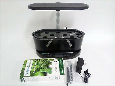 AeroGarden Bounty Indoor Hydroponic Herb Garden, Black *Defect* Herb Garden Indoors