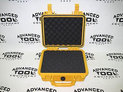 Yellow 10.5 Weatherproof Equipment Case 4 Trimble Tds Recon 400 400x 200 200x
