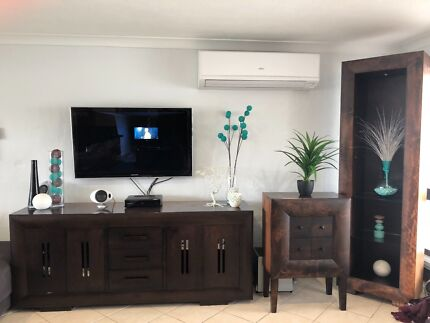 Harvey Norman Matching Cabinet x3