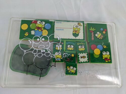 Sanrio Keroppi Frog Stamp Set 1991 Used