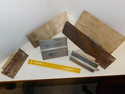 Lot Of 6 - Masonary Tool Concrete Cement Hand Trowel Groove Edger Float