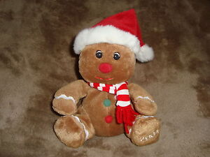 Sears-Exclusive-Charity-2004-Christmas-Gingerbread-Plush-Beanbag-Gingerbell-6