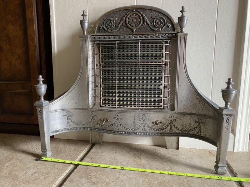ANTIQUE Vintage Belling & Co  Ltd Vintage Electric Fireplace