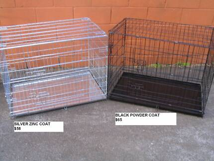 NEW XL Collapsible Metal Pet /Dog Puppy Cage Crate-METAL TRAY Coorparoo Brisbane South East Preview
