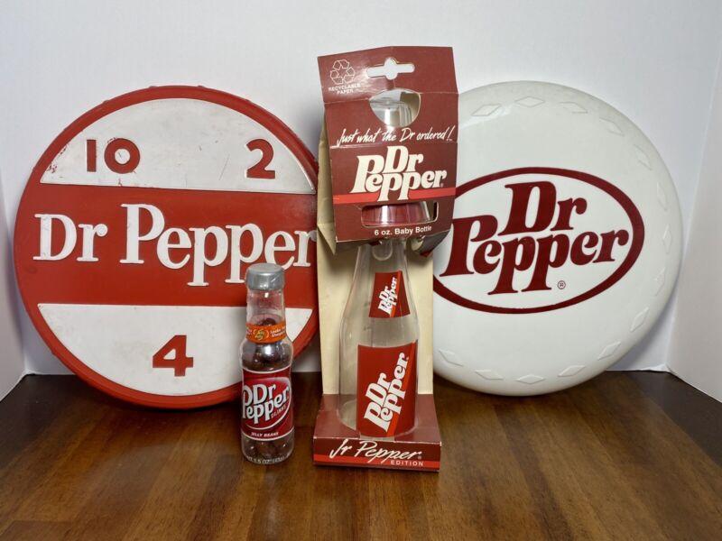 Vintage Dr. Pepper Collectibles Lot (4)