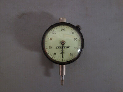 Federal Metric Dial Indicator .005 Mm Free Shipping