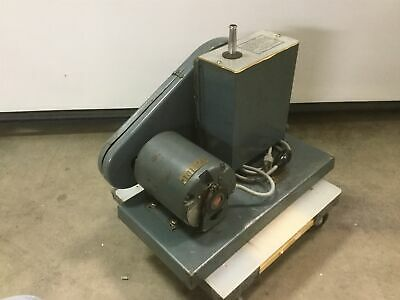 Welch Duoseal Vacuum Pump Two-stage 13hp 115vac 60hz Tested To -26hg