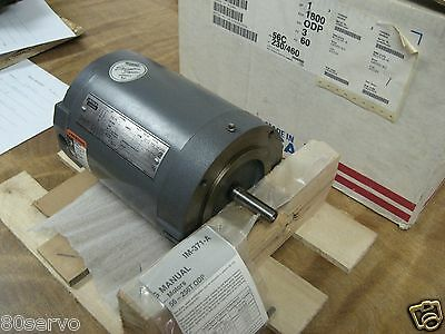 Lincoln Electric 1hp Ac Motor Km428cn 208-230460vac 60hz 1740 Rpm