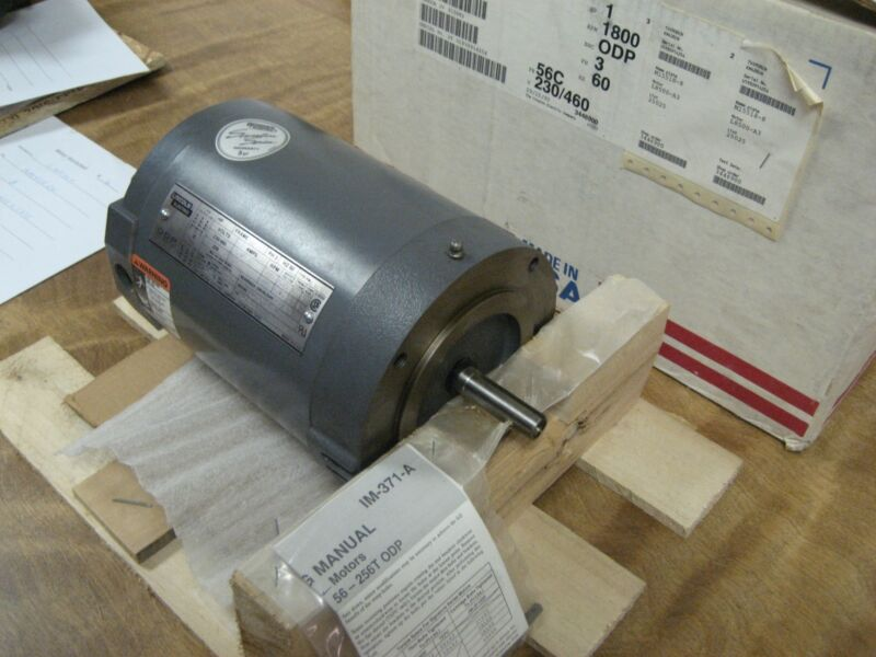 LINCOLN ELECTRIC 1HP AC MOTOR #KM428CN  208-230/460VAC  60HZ  1740 RPM