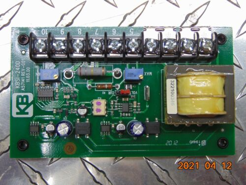 KB ELECTRONICS KBSI-240D (9431B) SIGNAL ISOLATOR BOARD *FREE SHIPPING*