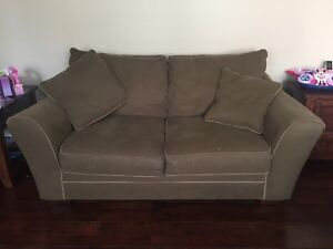 Oversized Love Seat, Chairs (2) and Ottoman