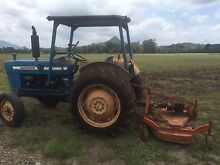Ford 2000 tractor with 5ft mower good sound into Mullumbimby Byron Area Preview