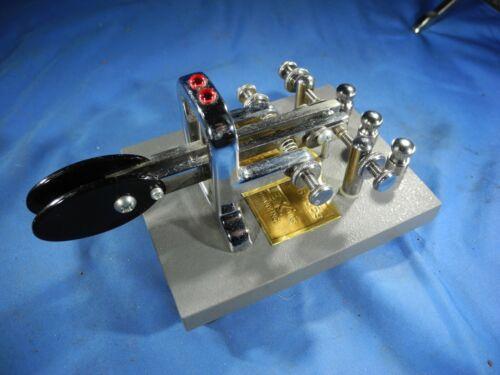 Vibroplex Iambic Key Deluxe Morse Code Telegraph CW QRP