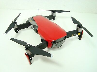 New DJI Mavic Air (RED) Drone Only new replacement Props Camera ready to fly