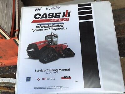 Case Steiger 350-600 New Holland T9.390-t9.670 Tractor Service Training Manual