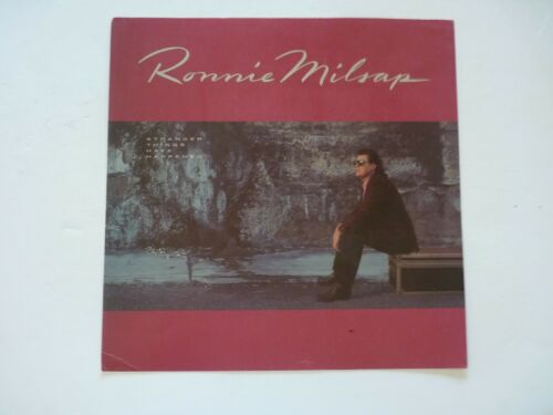 Ronnie Milsap Stranger Things Have Happened LP Record Photo Flat 12x12 Poster