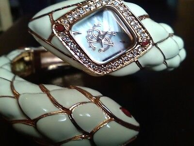 Roberto Cavalli Uhr Snake Star Armband Just Cavalli Damenuhr Rarität Snake watch