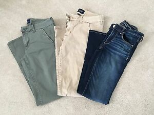 AMERICAN EAGLE SKINNY PANTS AND DENIM-ALL LIKE BRAND NEW!