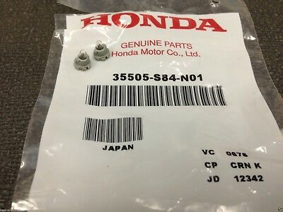 Genuine OEM Honda Neo Wedge Clock Light Bulb T3   2 pack   35505 S84 N01