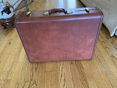 1950s Mens Suits & Sport Coats   50s Suits & Blazers Vintage Antique 1940-50 Shwayder Bros Denver Samsonite Luggage 24