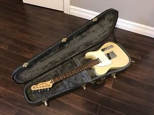 Fender Squier Telecaster Electric Guitar With Case