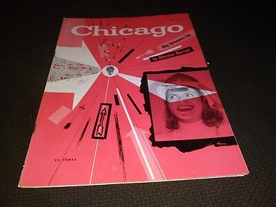 May 1954 Chicago Magazine Oil Refineries Wood River Illinois