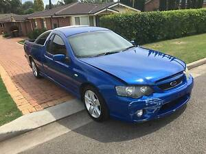 """2005 Ford """"SHOCKWAVE"""" BF XR6 Utility MUST GO! Make an OFFER Melrose Park Parramatta Area Preview"""