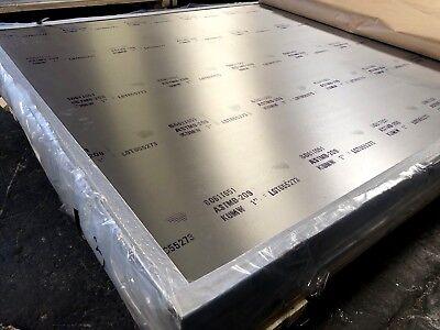 Aluminum 6061 T651 Plate 2 X 24 X 24