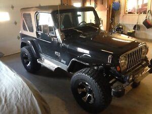 Jeep TJ 2002 4.0litres