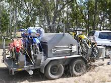 Custom 4 Motorbike or 2 Quad Camping trailer, Motor Bike Trailer Dalby Dalby Area Preview