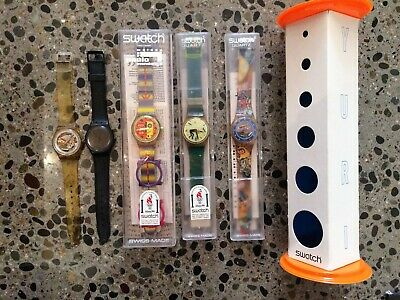 Swatch watch collection mens and womens