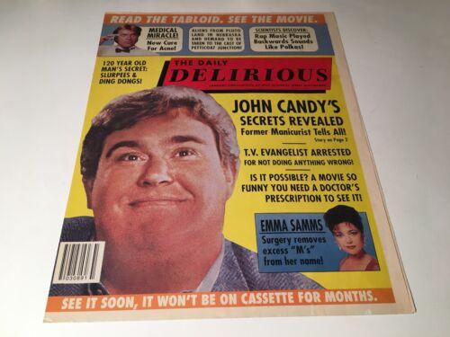 Delirious Original 1991 Movie Pressbook Promo Brochure John Candy Comedy Film