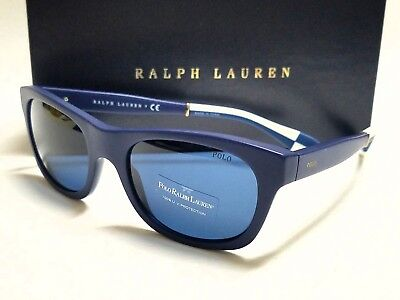 New POLO RALPH LAUREN PH4077 542580 Vintage Blue/Blue Lens 54mm (Vintage Ralph Lauren Sunglasses)