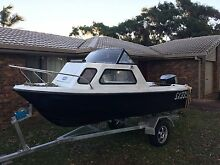 16ft Reef craft Half Cabin 100hp Johnson Scarborough Redcliffe Area Preview