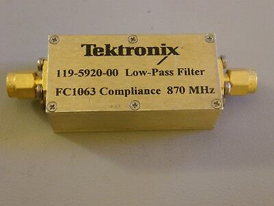 Tektronix 119-5920-00 Low Pass Filter