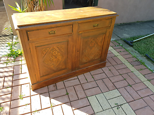 Antique Side/Buffet Cupboard Hamilton South Newcastle Area Preview