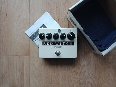 Red Witch Famulus Overdrive Pedal Made In New Zealand