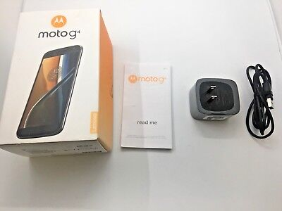 "New Motorola Moto G4 XT1625 32GB Factory Unlocked Smartphone with ""NO ADS"""