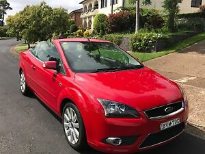 2008 Ford Focus Convertible Elermore Vale Newcastle Area Preview
