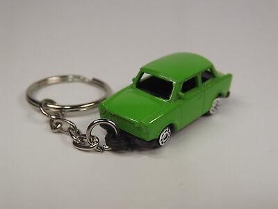 Trabant 601 Limousine grün Modellauto als HO Schlüsselanhänger DDR Zwickau