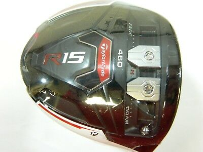 New Taylormade R15 460 White 12* Driver FJ Speeder Evo 57 - Stiff flex for sale  Shipping to India