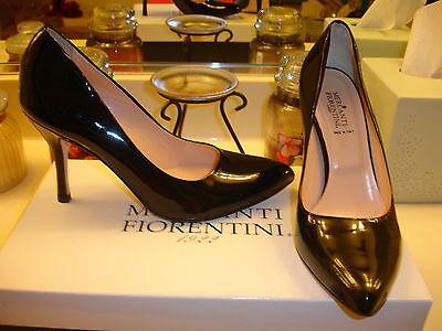 Mercanti Florentini J7020 Patent Leather Heel 7 $350 Sexy Wedding Prom - Bridal Leather Heels