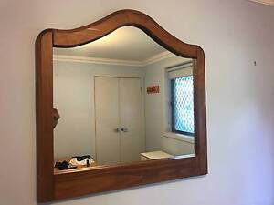 Mirror with Timber frame East Maitland Maitland Area Preview