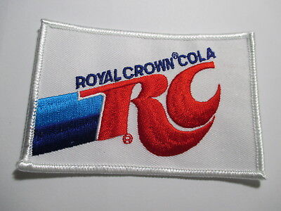 Royal Crown RC Cola Patch Official and Original Vintage Patch 4 x 2 3/4 inch