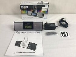 iHome iH16 iPod docking station portable stereo speaker system alarm clock
