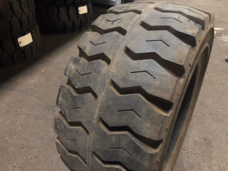 23x10-12 Monarch Solid Pneumatic Tire Rim Size 8 Forklift Tires NashFuel