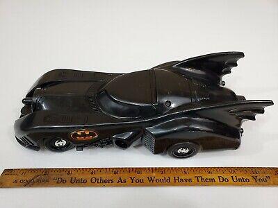 Vintage Batmobile (1989 Toybiz) Batman Michael Keaton Movie Car - Tim Burton