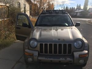 2004 Jeep Liberty renegade for sale
